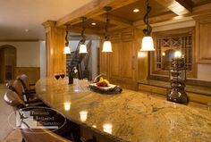 Basement Bar Countertop traditional basement