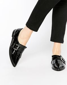 official photos 0615c dab1a ASOS MEMO Fringe Flat Shoes Platta Skor, Skor Klackar, Vinter, Boots