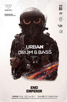 Drum & Bass impresiones por Balinisteanu Iulian