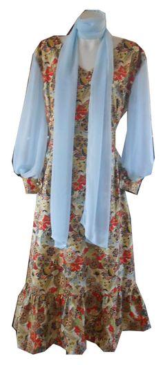 HARAH DESIGNS  STARLIGHT CHIFFON SLEEVE DRESS Designer Dresses, Kimono Top, Chiffon, Dresses With Sleeves, Tops, Women, Fashion, Silk Fabric, Moda