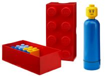 Lego Lunch Box 8. Cute lunch or snack container for fans of Lego. Lunch box can be placed in dishwasher. Lego Drinking Bottle is BPA free. Age 3+.