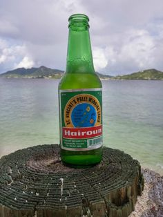 St. Vincent and the Grenadines' local brew: Hairoun