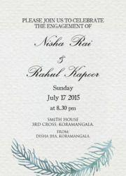 Image Result For Engagement Invitation Card