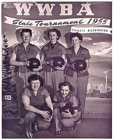 1955 - State Bowling Tournament team