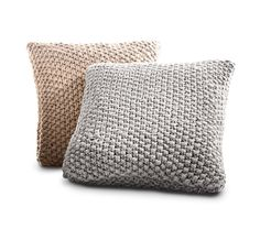 Heritage Pillows: These hand-knit #pillows are perfect for everyday comfort, whether relaxing on the couch or curled up in #bed. It's a great item for friends, family or self-purchase. 16x16 inches. #SleepNumber