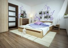 Bedroom in new style