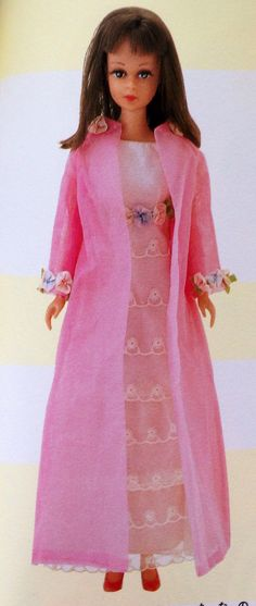 "vintage francie Barbie doll clone from Japan 1967 ""sweet n swingin'"""