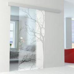 Living Room Partition Design, Room Partition Designs, Etched Glass Door, Sliding Glass Door, Frosted Glass Design, Duplex House Design, Wooden Door Design, Salon Interior Design, Bedroom Furniture Design