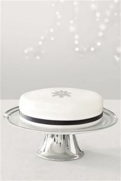 White Single Tier Cake Stand from the Next