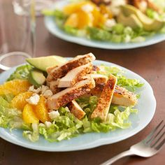 Mexican Chicken Salad Stacks