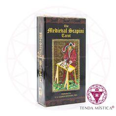 Baralho Tarot - The Mediebal Srapini Tarot, Mansion, Cover, Decks, Palace, Tarot Cards