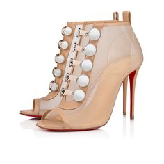 f73e0ceef157 Marikate 100 Version Nude Leather - Women Shoes - Christian Louboutin