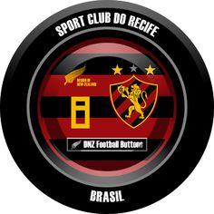 DNZ Football Buttons: Sport Recife