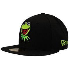 Boné New Era 5950 Muppets Kermit The Frog – Preto - http://batecabeca.com.br/bone-new-era-5950-muppets-kermit-the-frog-preto-netshoes.html