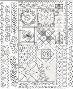 quilting designs - Tudo o que você queria saber sobre quiltar!