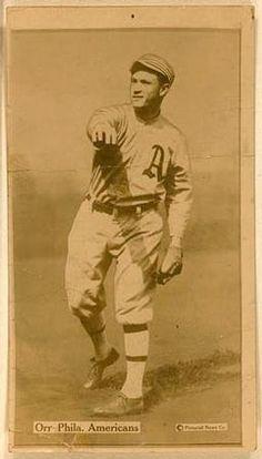 1914 Fatima (T222) #38 Billy Orr Front