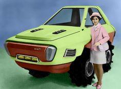 Kubota Concept Tractor 1970