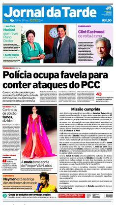 Cada vez que muere un diario, el sentimiento entre los periodistas es de tristeza e incertidumbre. Hoy tenemos otra mala noticia. En Brasil, el rotativo Jornal da Tarde ya no circulará más. Se murió. Y el adiós aparece en portada.