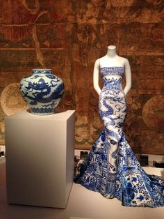 Blue and White Met Museum