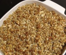 Healthy Apple Crumble (Thermomix) Apple filling 350 grams apples, cored and… Sweets Recipes, Cooking Recipes, Healthy Recipes, Healthy Snacks, Gluten Free Oats, Dairy Free, Healthy Apple Crumble, Bellini Recipe, Thermomix Desserts