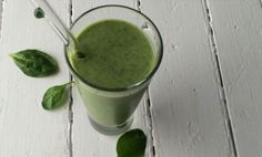 Watch how to make a healthy green smoothie with spinach and tropical flair from pineapple.