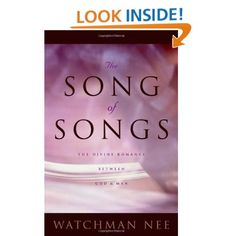 Image detail for -The Song of Songs: Watchman Nee: 9780870838729: Amazon.com: Books