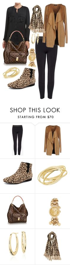 """""""Wild Cat"""" by barbara-ward-1 on Polyvore featuring Soallure, Django & Juliette, Hint of Gold, Versus, Blue Nile and Calypso St. Barth"""