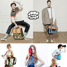 I want one of these awesome bags by Jump From Paper !