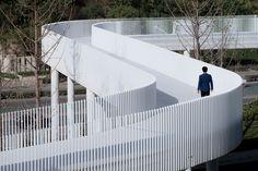 Bridges Architecture, Floating Architecture, Architecture Drawings, Landscape Architecture, Landscape Design, Architecture Design, Retail Architecture, Landscape Plane, Parking Building