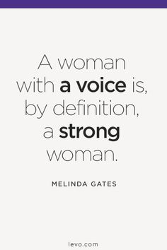 """""""#Feminism isn't about making women strong. Women are already strong. It's about changing the way the world perceives that strength."""" —G.D. Anderson #levoinspired www.levo.com"""