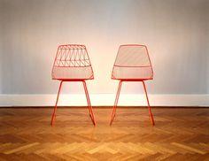 Gaurav Nanda / Ethel and Lucy Chairs - thepinkbirdblog.com