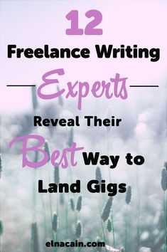 Check out these 12 awesome freelance writers tell us how they land freelance writing jobs.