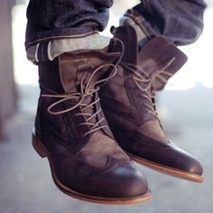 Beautiful brown boots.