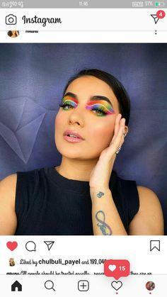 Creative Makeup Looks, Photography Poses Women, Carnival, Face, Carnavals, The Face, Faces, Facial