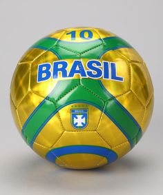 My favorite soccer team is Brazil. I have a soccer coach from there, and their team is just stinking awesome.