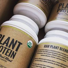 Monday Morning Deliveries... #PlantProtein soldiers heading out the door to your shaker bottles // 11 superfood blend CHIA  FLAX  SPROUTS  PLANT PROTEIN (HEMP & BROWN RICE)  VANILLA BEAN // available at athorganics.com!