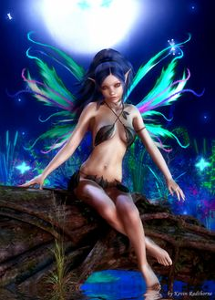 I Saved A Place For You by Radthorne on #deviantART #Fairy #Fata