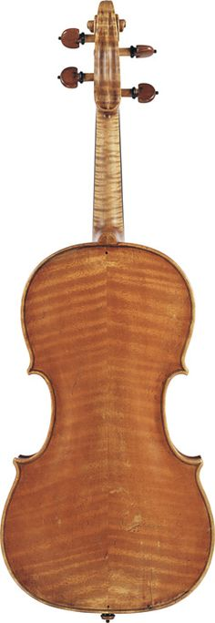 David Tecchler  (circa 1725)  A Violin Rome, circa 1725  Labelled Carlo Tononi Bolognese Fece in Venezia l'A:1724  Length of back: 35.5 cm
