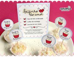 1 mês - Bodas de beijinho - Kit para download