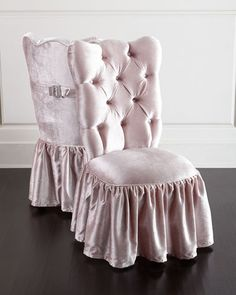 Shop Farfalla Vanity Seat from Haute House at Horchow, where you'll find new lower shipping on hundreds of home furnishings and gifts. Furniture Vanity, Home Furniture, Furniture Design, Handmade Furniture, Shabby Chic Homes, Shabby Chic Decor, Hollywood Furniture, Vanity Seat, Vanity Chairs