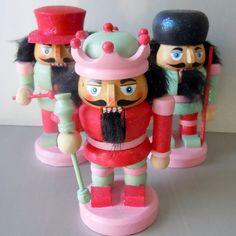 Nutcracker Candyland Dreams Miniature Nutcracker Trio