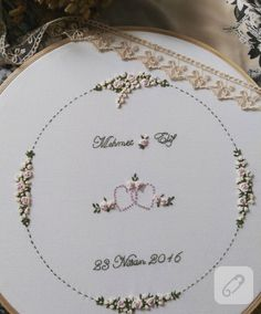 brezilya-nakisi-kasnak-pano-14 Embroidery Flowers Pattern, Creative Embroidery, Simple Embroidery, Learn Embroidery, Hand Embroidery Stitches, Embroidery Hoop Art, Cross Stitch Embroidery, Embroidery Designs, Heirloom Sewing