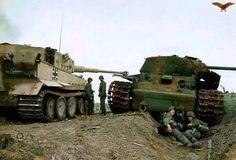 Tiger I vs KV I