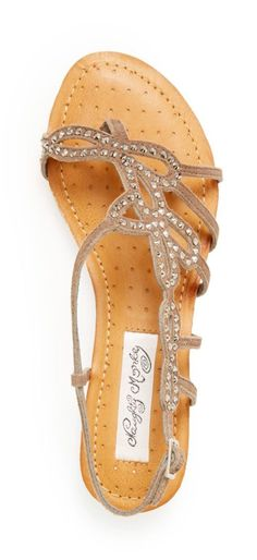 For my bridesmaids! Nothing fancy Pretty Shoes, Beautiful Shoes, Cute Shoes, Me Too Shoes, Cute Sandals, Shoes Sandals, Flat Sandals, Summer Sandals, Fashion Shoes