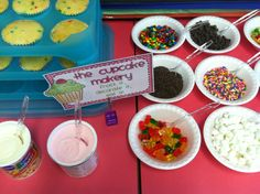 Have a cupcake party for the end of the year.  Students decorate their own cupcake with a variety of toppings.  My students would LOVE this:)