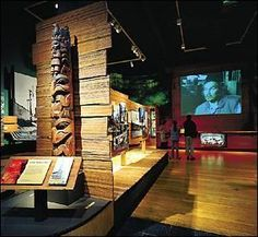 totem [pole museum exhibits - Google Search