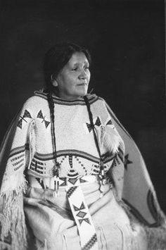 Josephine Gates-Kelley - Hunkpapa - circa 1920