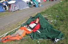 This is why you set-up your tent BEFORE you have your first drink! #musicfestivalproblems #countryfest