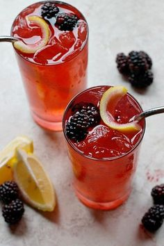 Blackberry Ginger Crush | Foodboum