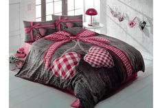 Cami's world & more: Alege Decorami, relaxare si culoare in dormitorul . Double Bedding Sets, Double Bed Sheets, Double Beds, Flat Sheets, Bed Covers, Duvet Cover Sets, Pillow Covers, Bed Linen Sets, Bed Sets